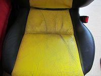 leather car seat renovation tutorial