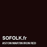 Teinte siège cuir ASTON MARTIN