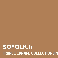 Teinte canapé cuir FRANCE CANAPE