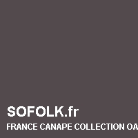 FRANCE CANAPE: leather sofa colour