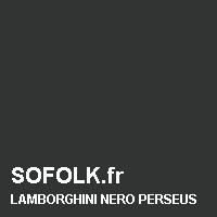 Teinte siège cuir LAMBORGHINI
