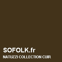 NATUZZI: leather sofa colour