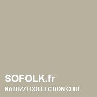 NATUZZI: leather sofa colour