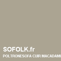 Teinte canapé cuir POLTRONESOFA