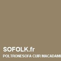 POLTRONESOFA: leather sofa colour